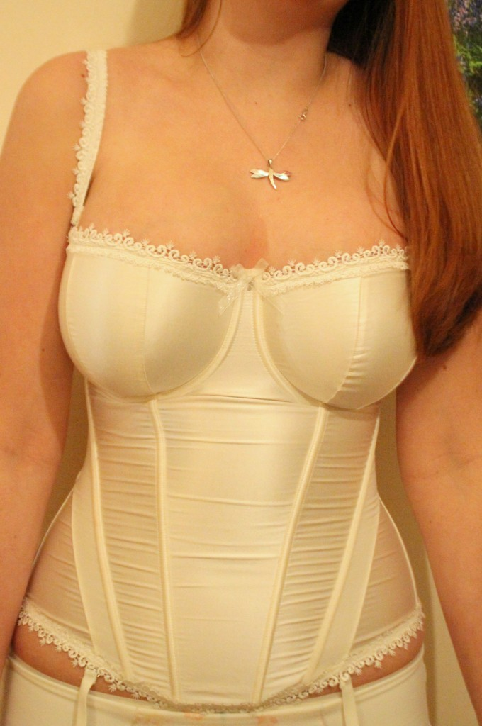 Masquerade Ivory Basque Review