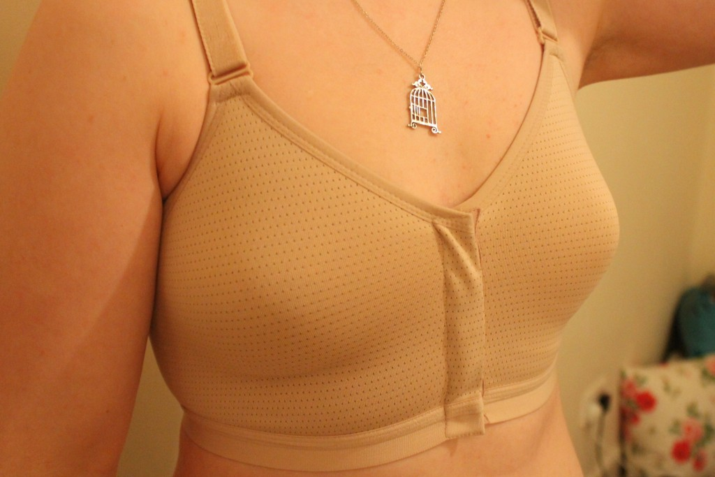 Royce - silver post surgery bra
