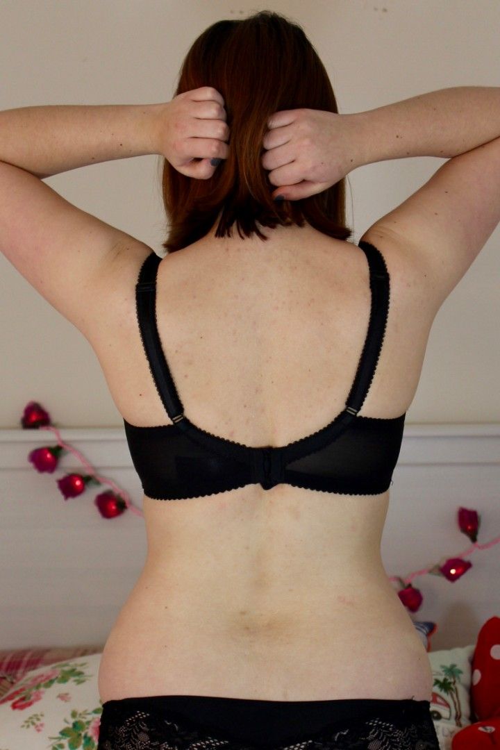 Debenhams Black Lace bra review