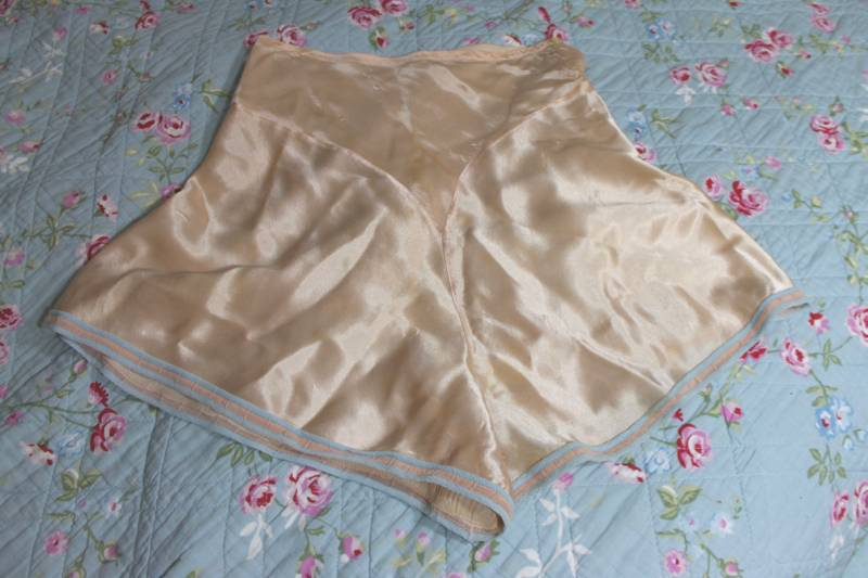 vintage tap pants french knickers