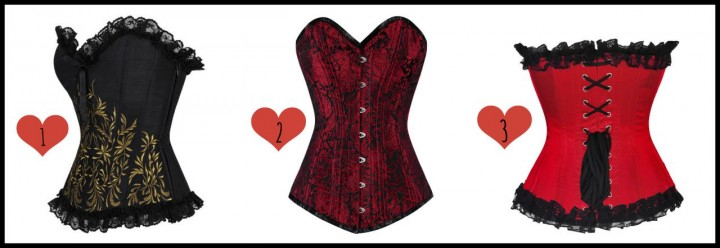 corset deal collage
