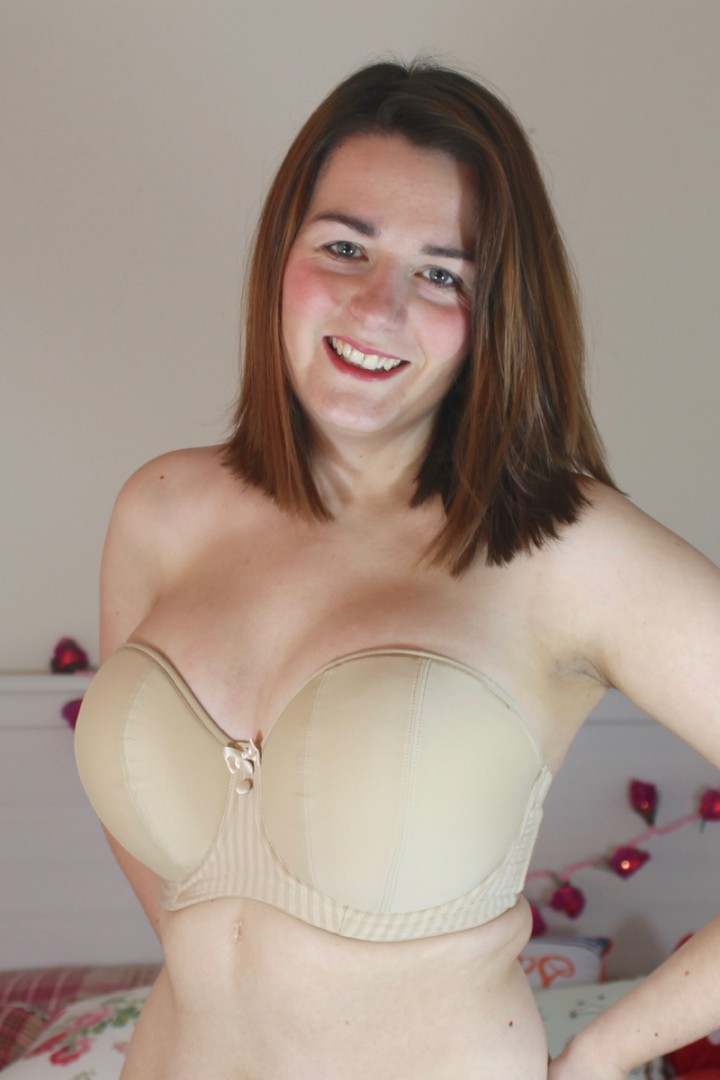 Curvy Kate Luxe Strapless bra review 28GG