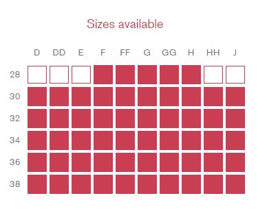 cleo blake sizes