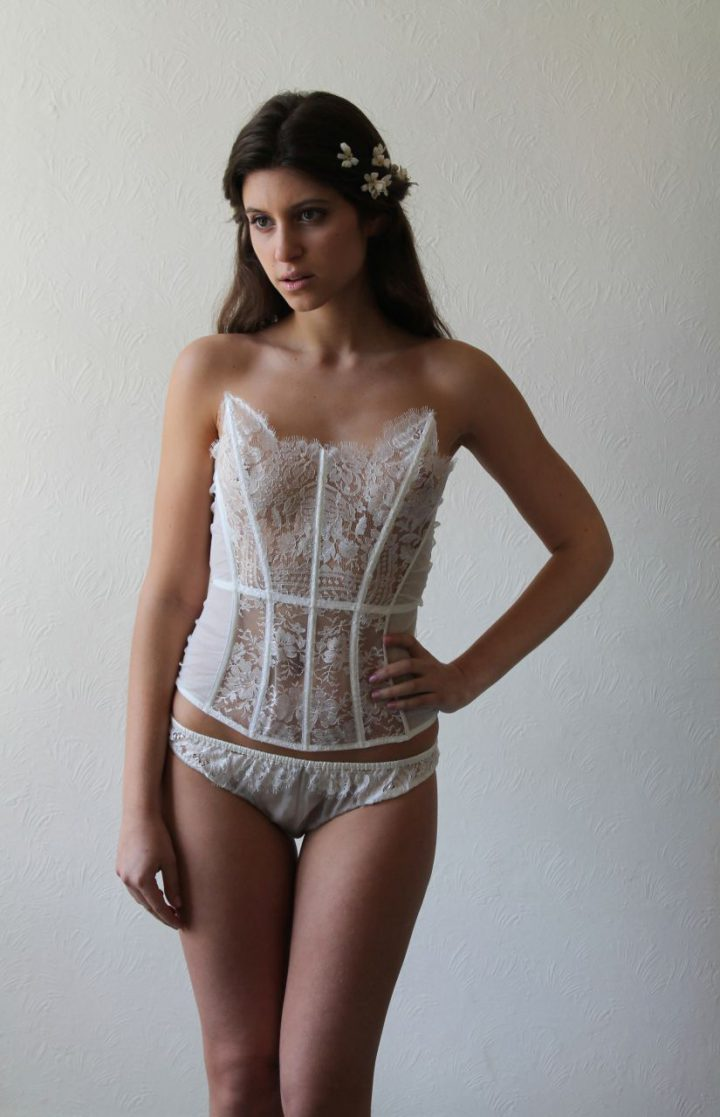 Esme Basque with Brief - Serene Intimates