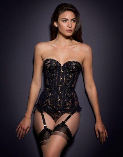 Vera Corset Black