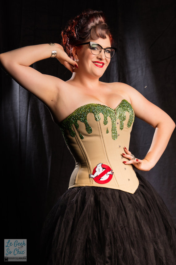 SLIMED Overbust Ghostbusters Corset