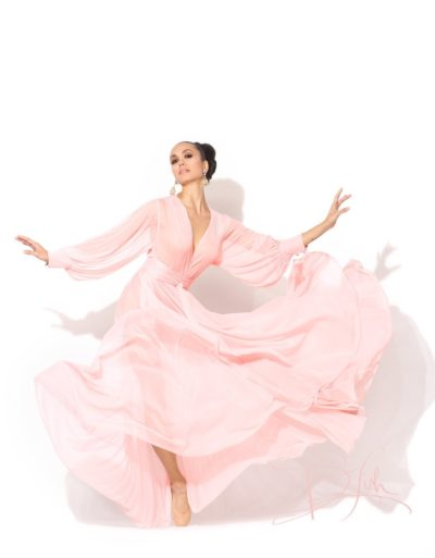 Catherine D'Lish Beverly Blush Robe