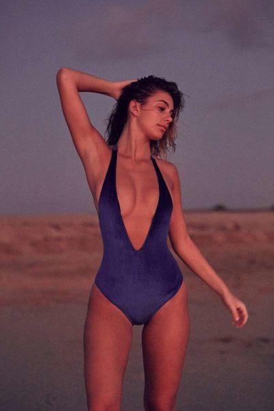 Urban Outfitters Velvet Swimsuit