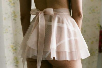 Ellesmere Rosa Skirt - ballet inspired lingerie