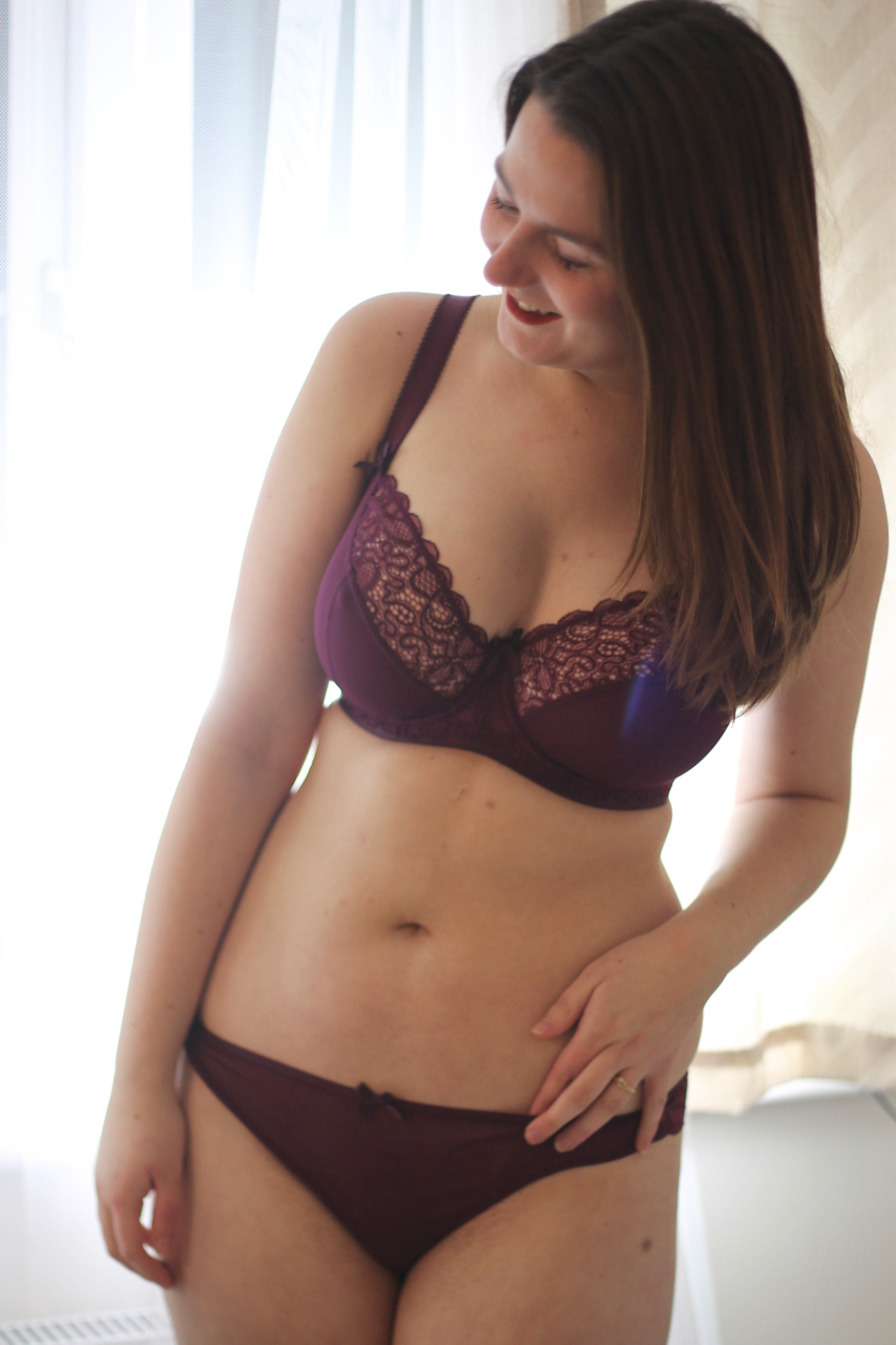 Curvy Kate Ellace bra review - 28GG & 30D