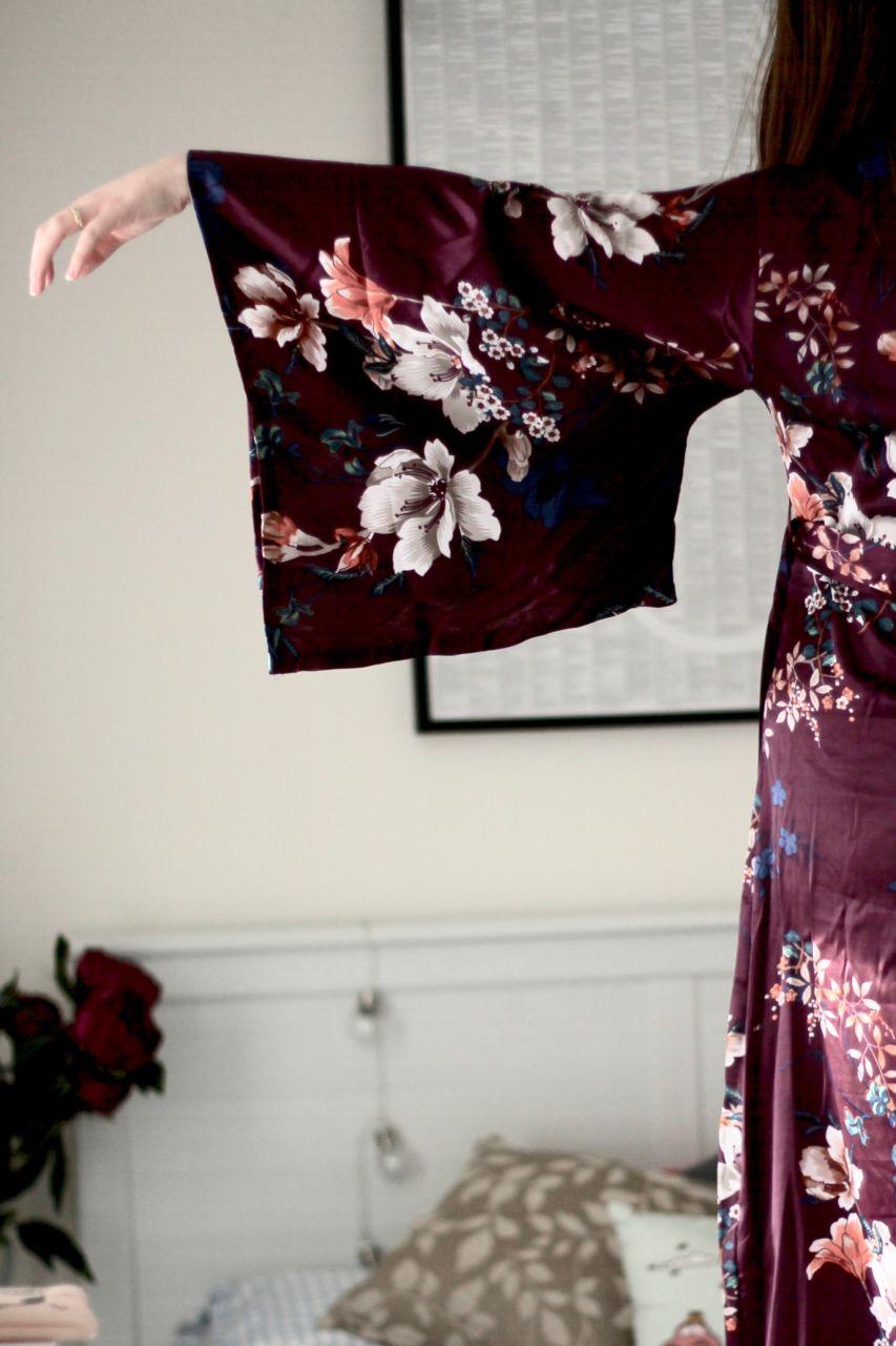 ASOS Rita DD+ bralette review and Primark maxi kimono robe