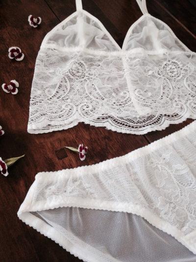 Nahina Lingerie Eve set - wedding lingerie bralette