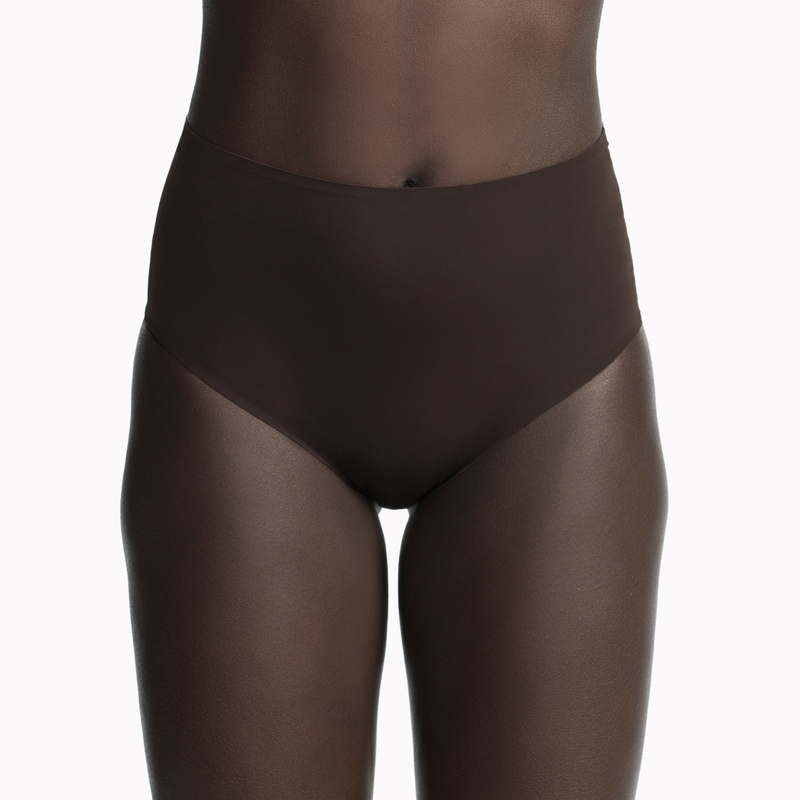 High Waist Microfiber Brief