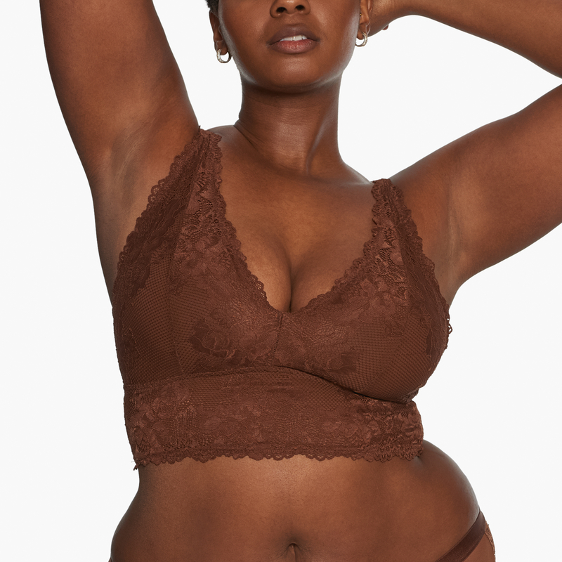 Wireless Lace Bralette