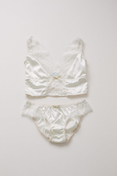 Love Deluxe Lingerie Millie longline bralette and knicker set - £70