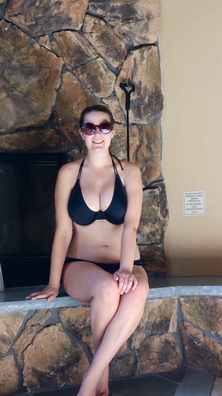 RAQ Apparel classic black bikini review 8G/30G