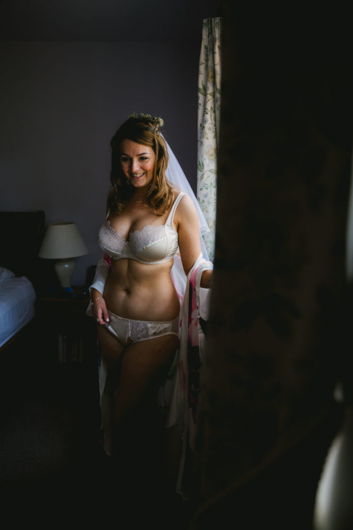 Wedding Day Bridal Lingerie - Harlow & Fox Eleanor Almond review