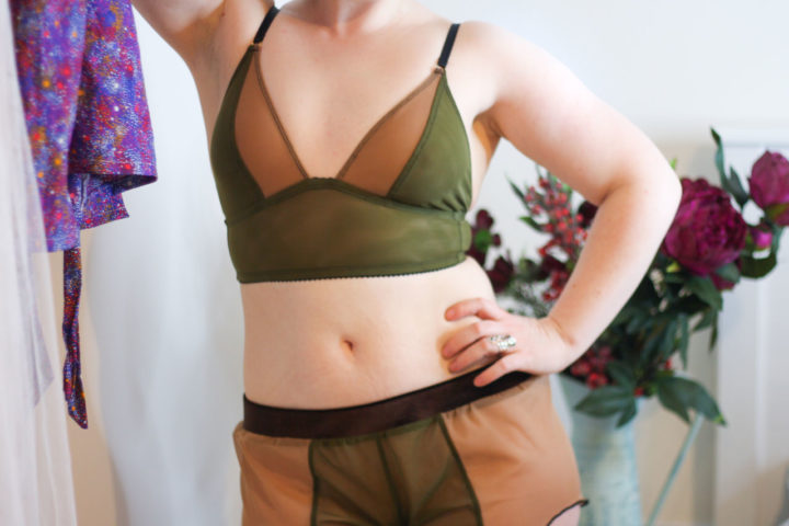 Impish Lee Customisable Lingerie review - longline bralette