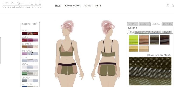Impish Lee 30D triangle longline bralette review