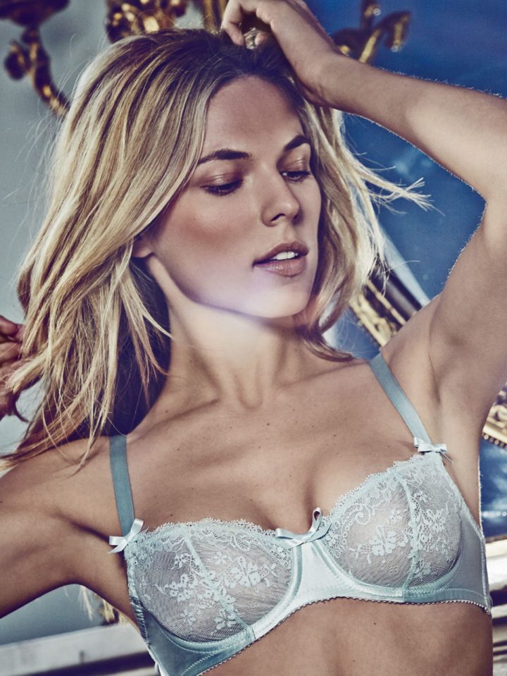 Lucile Luxury Signature Lace Balcony Bra - £119